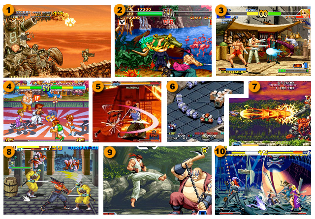 Top 10: Neo Geo / Neo Geo CD