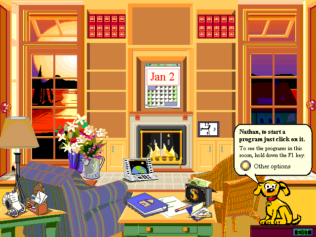 Interface do Microsoft BOB.