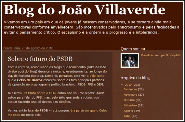 Blog do João Villaverde